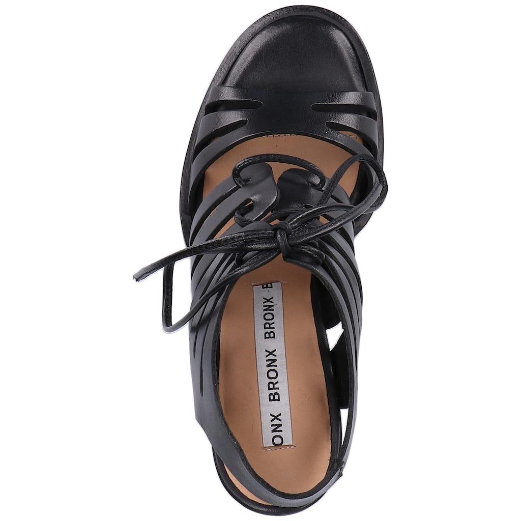 Bronx High-Heel-Sandalette »Leder«