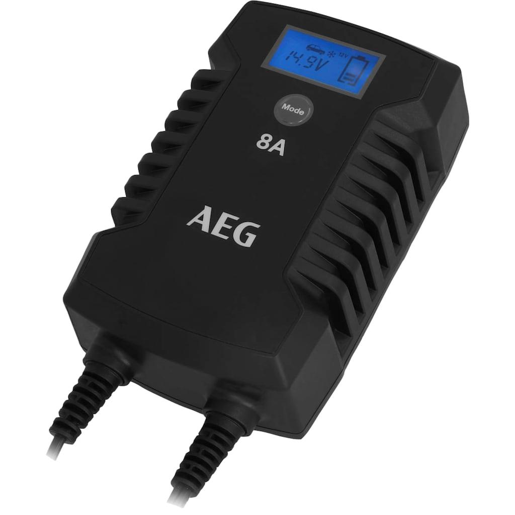 AEG Autobatterie-Ladegerät »LD8«, 8000 mA, IP66