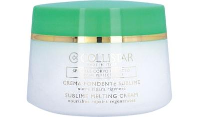 "COLLISTAR Körpercreme ""Sublime Melting Cream"" kaufen"