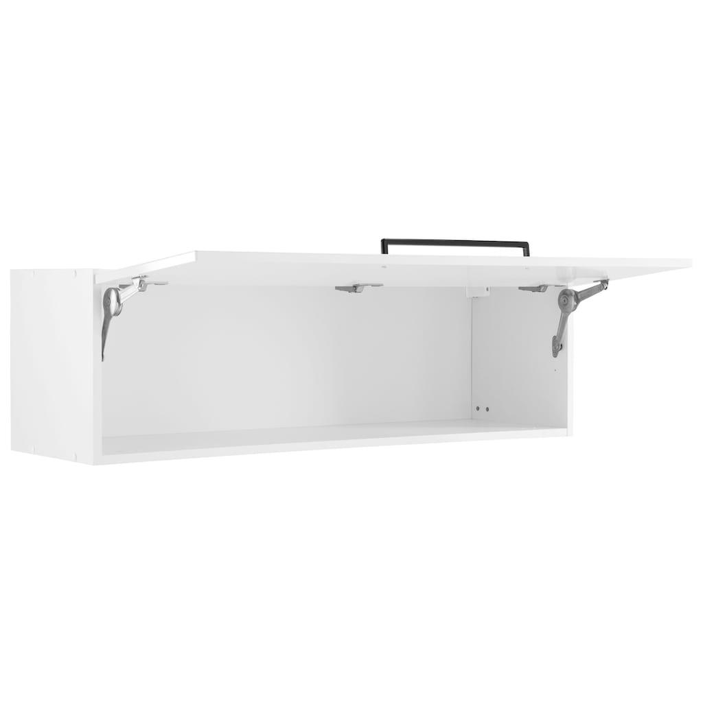 HELD MÖBEL Klapphängeschrank »Tulsa«, 110 cm breit, mit 1 Klappe, schwarzer Metallgriff, hochwertige MDF Front