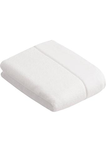 Vossen Badetuch »Pure«, (1 St.), BIO Baumwolle & Vegan kaufen