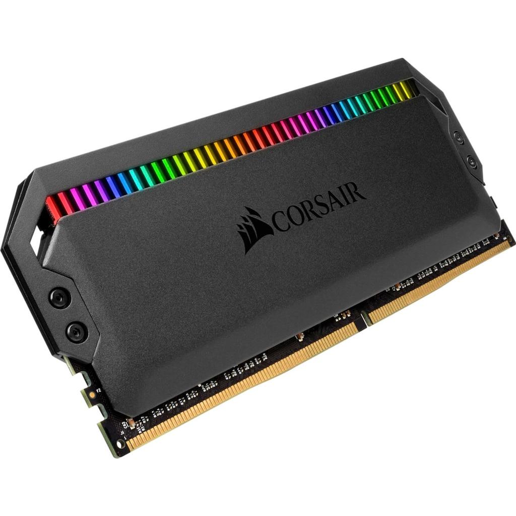 Corsair Arbeitsspeicher »Dominator Platinum RGB DDR4 3600MHz 32GB (4x8GB)«