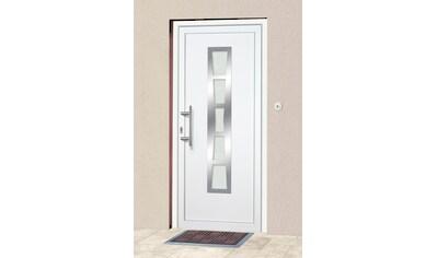 KM Zaun Haustür »K640«, BxH: 98x208 cm, weiß, in 2 Varianten kaufen