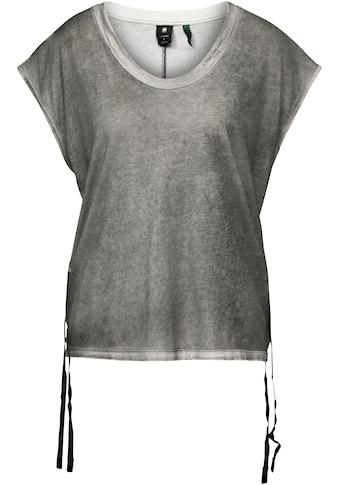G-Star RAW T-Shirt, einzigartiger Farbeffekt durch Overdyed kaufen