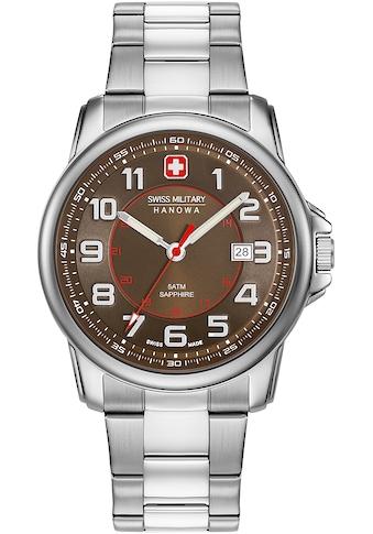 Swiss Military Hanowa Schweizer Uhr »SWISS GRENADIER, 06-5330.04.005« kaufen