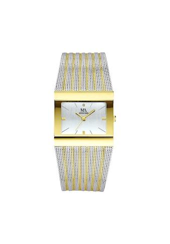 Meister Anker Uhr »Edelstahl zweifarbig« kaufen