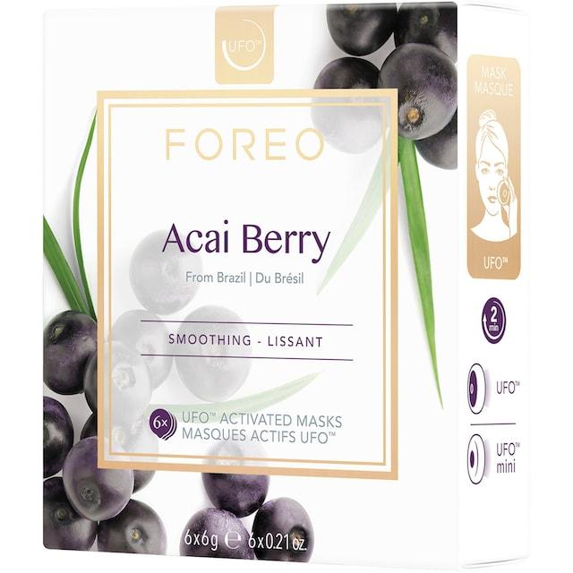 "FOREO Tuchmaske ""Acai Berry"", Packung"