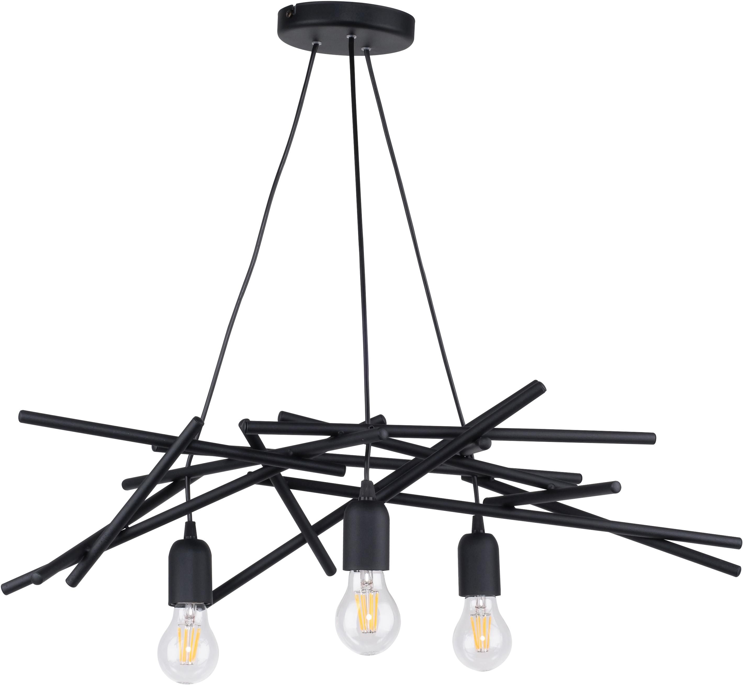 SPOT Light Pendelleuchte GLENN, E27, 1 St., aus Metall, originelles Design, passende LM E27, Made in EU
