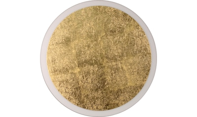 LUCE Design LED Deckenleuchte »Moon 9023 L GO«, LED-Modul, 1 St., Neutralweiß kaufen