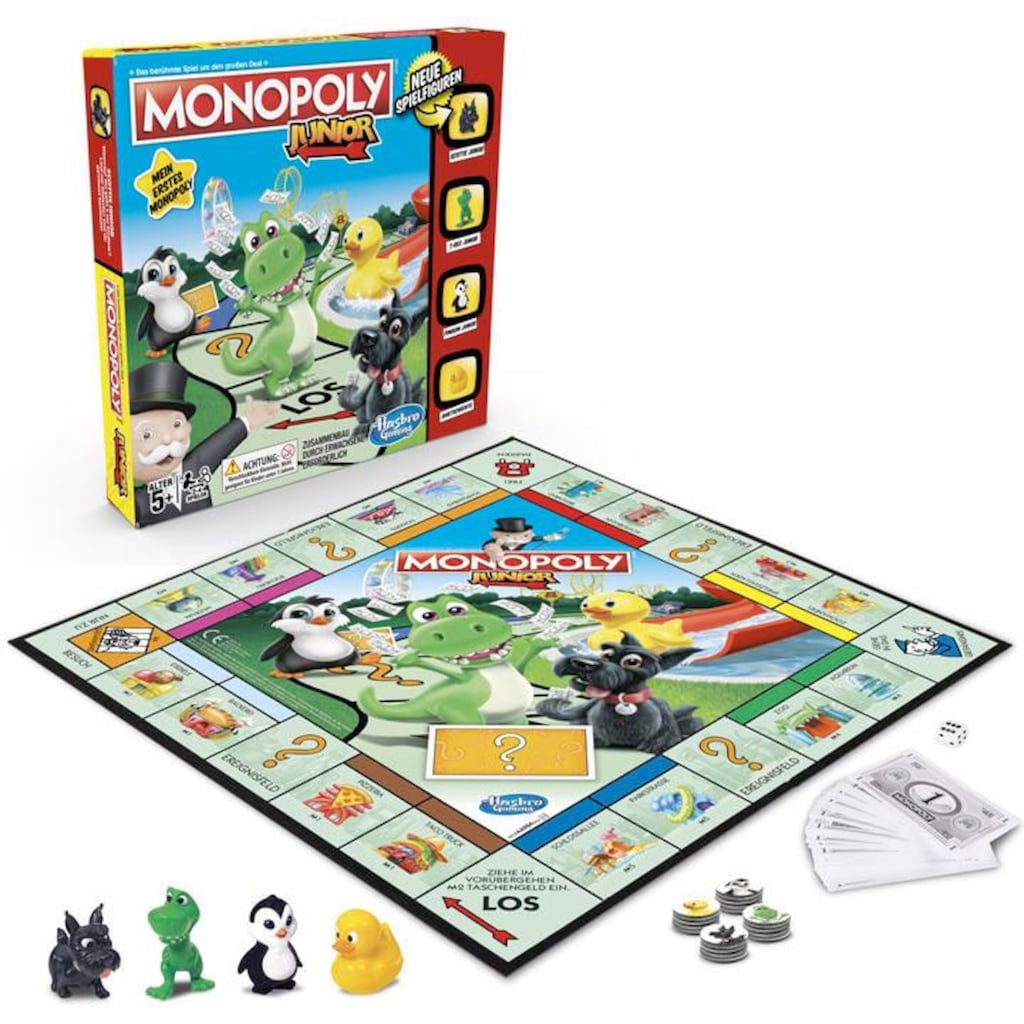 Hasbro Spiel »Monopoly Junior«, Made in Europe