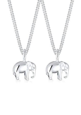 Elli Ketten - Set »Mutter Kind Elefant Verbundenheit 925 Silber« kaufen