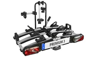 EUFAB Kupplungsfahrradträger »PREMIUM 3«, für die Anhängerkupplung, abschließbar kaufen