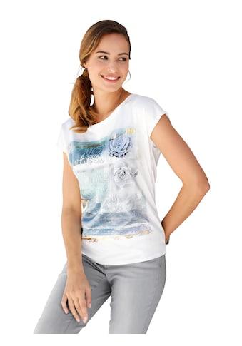 Amy Vermont Print-Shirt, mit dekorativem Goldfoliendruck kaufen
