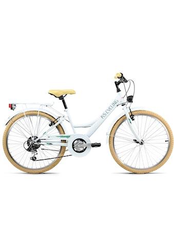 KS Cycling Jugendfahrrad »Toskana«, 6 Gang, Shimano, Tourney Schaltwerk, Kettenschaltung kaufen