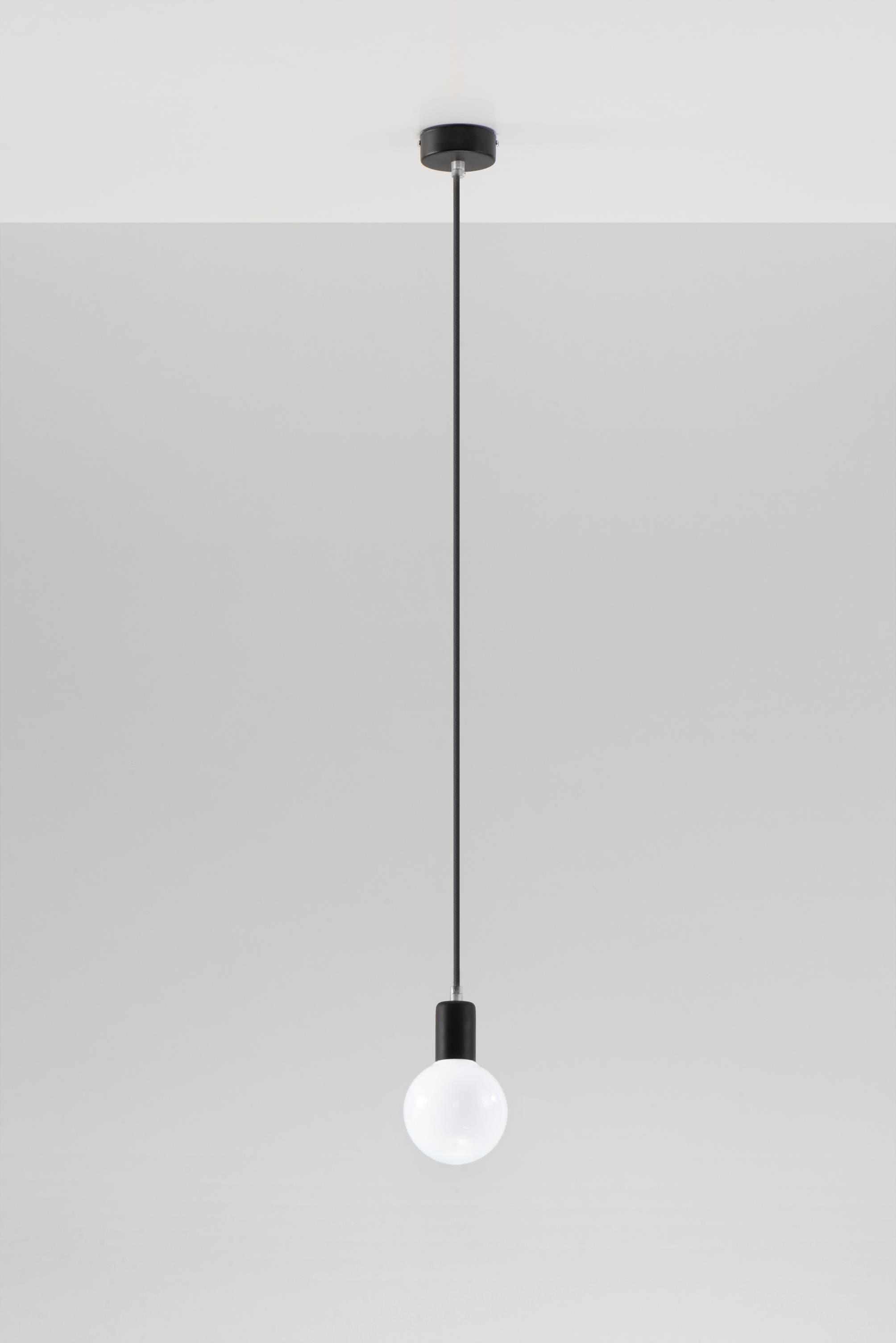 SOLLUX lighting Pendelleuchte Edison, E27, 1 St., Hängeleuchte, Hängelampe