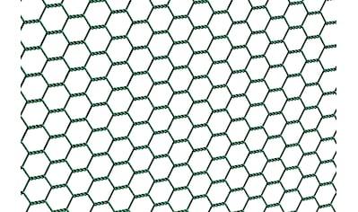 GAH Alberts Sechseckgeflecht, 100 cm hoch, 25 m, grün beschichtet kaufen