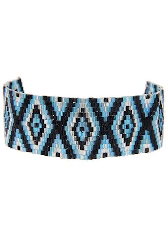 leslii Armband mit Rauten - Muster kaufen