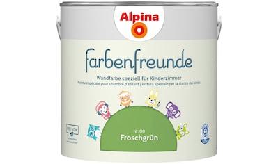 ALPINA Wand -  und Deckenfarbe »Farbenfreunde«, Froschgrün 2,5 l kaufen