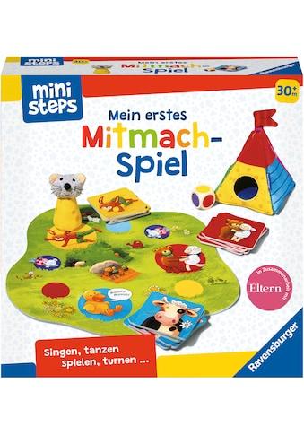 Ravensburger Spiel »ministeps®, Mein erstes Mitmach-Spiel«, Made in Europe, FSC® - schützt Wald - weltweit kaufen