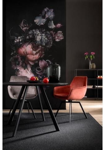 SCHÖNER WOHNEN-Kollektion Esstisch »ROUND«, Füße Metall anthrazit matt, Tisch mit... kaufen
