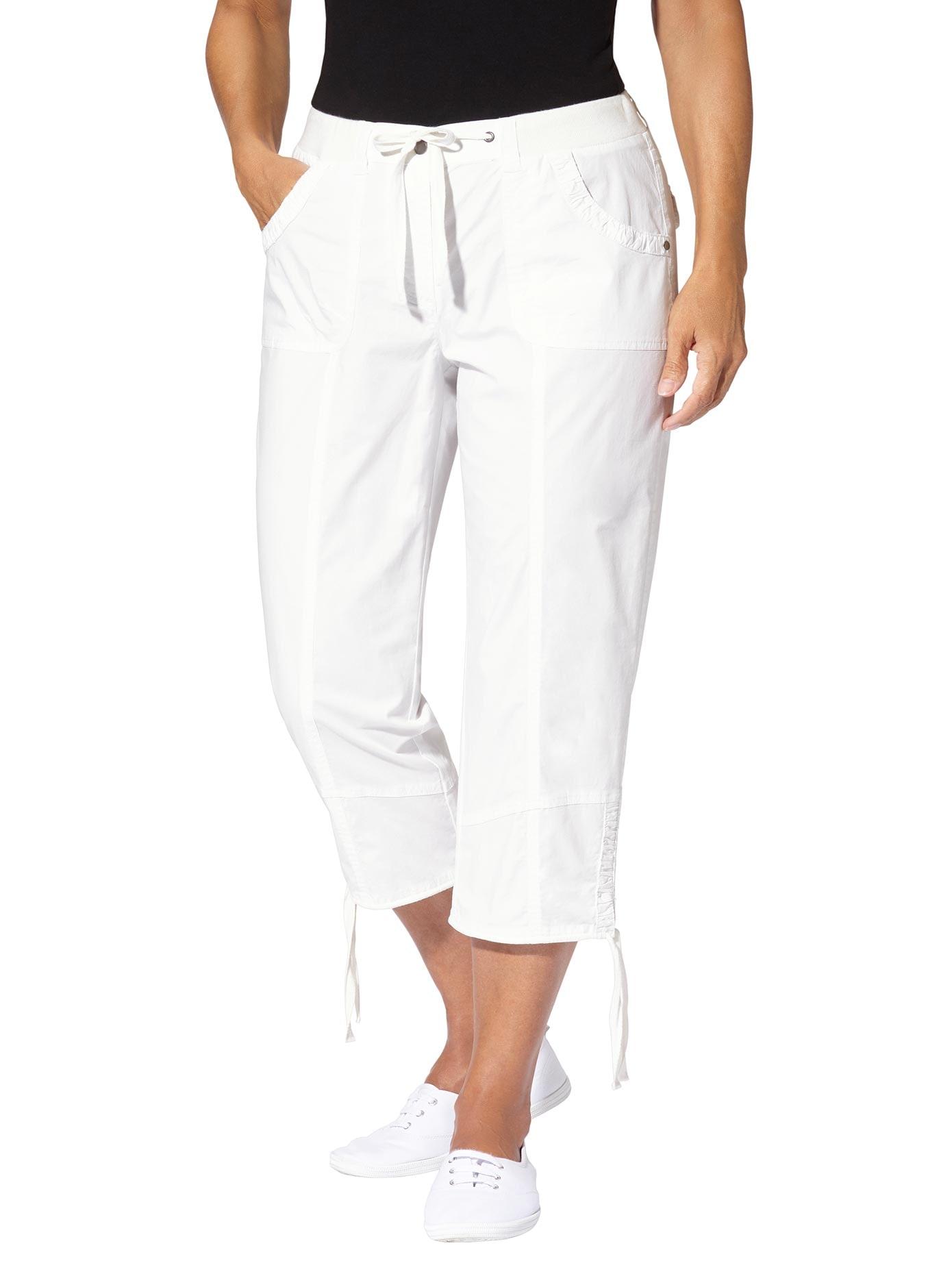 Casual Looks Hose 3/4-lang mit Raffung und Zugband am Beinende | Bekleidung > Hosen > Sonstige Hosen | Casual Looks