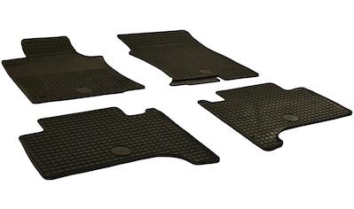 Walser Passform-Fußmatten, Toyota, Landcruiser V8, Geländewagen, (4 St., 2 Vordermatten, 2 Rückmatten), für Toyota Landcruiser (120) BJ 2002-2009, Prado 2002 - heute, 150 BJ 2009 - heute kaufen