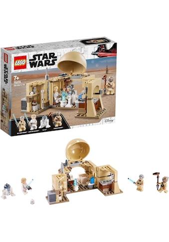 """LEGO® Konstruktionsspielsteine """"Obi - Wans Hütte (75270), LEGO® Star Wars™"""", Kunststoff, (200 - tlg.) kaufen"""