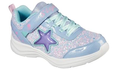 Skechers Kids Sneaker »GLIMMER KICKS«, mit seitlicher Stern-Applikation kaufen
