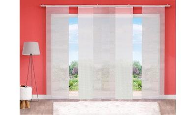 HOME WOHNIDEEN Schiebegardine »IRMI«, HxB: 245x60, inkl. Befestigungszubehör kaufen