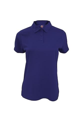 Fruit of the Loom Poloshirt »Damen Lady-Fit Performance Polo-Shirt, kurzärmlig« kaufen
