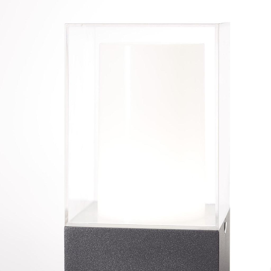 AEG Barbey LED Außenstandleuchte anthrazit/weiß
