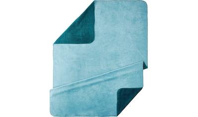 Kneer Wohndecke »UNI«, kuschelige Wendedecke in großer Farben-Vielfalt kaufen