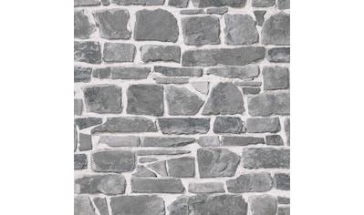 Rasch Papiertapete »Das Beste (2021)«, gemustert-Steinoptik kaufen