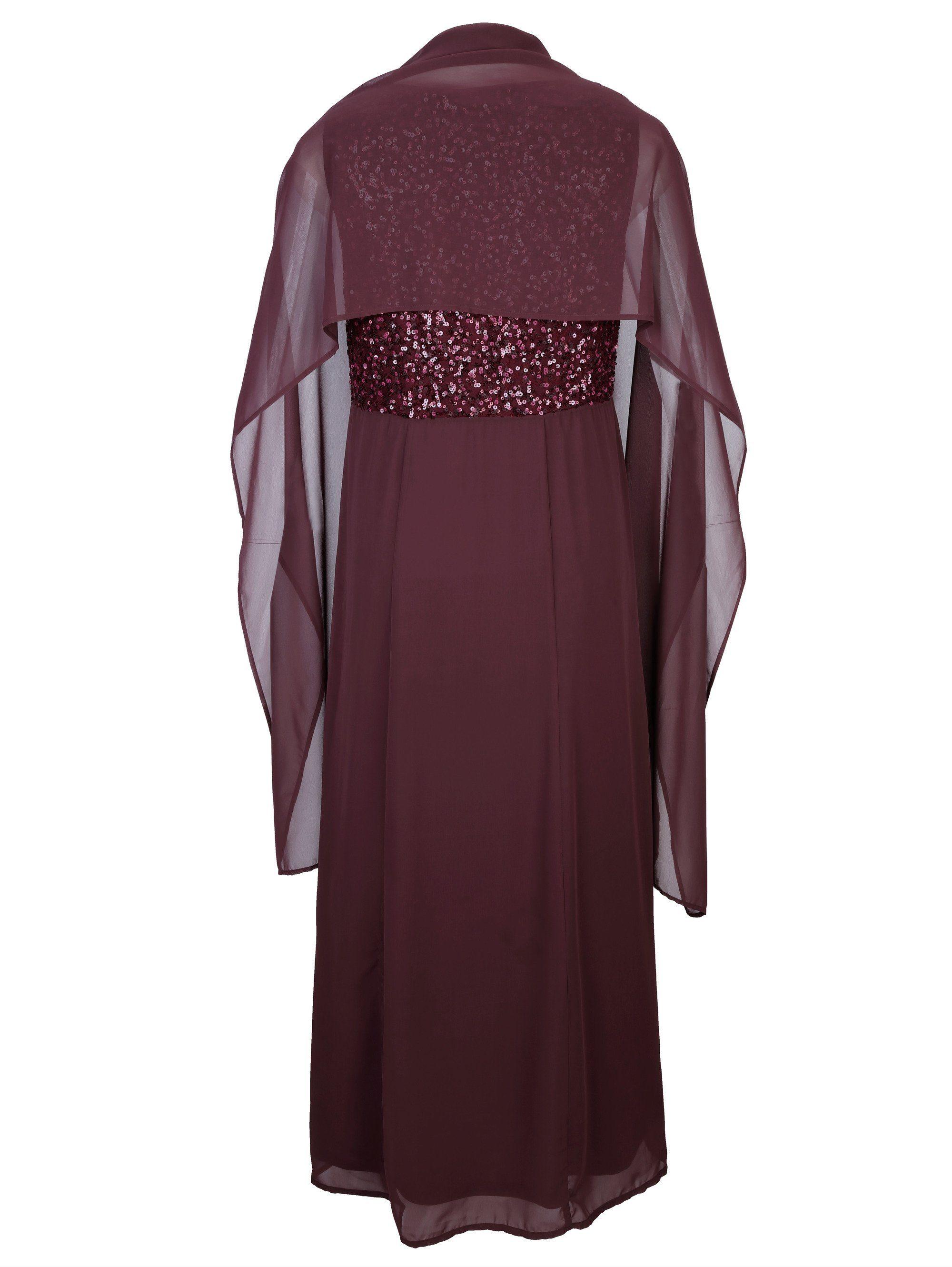 MIAMODA Abendkleid mit edler Stola aus Chiffon