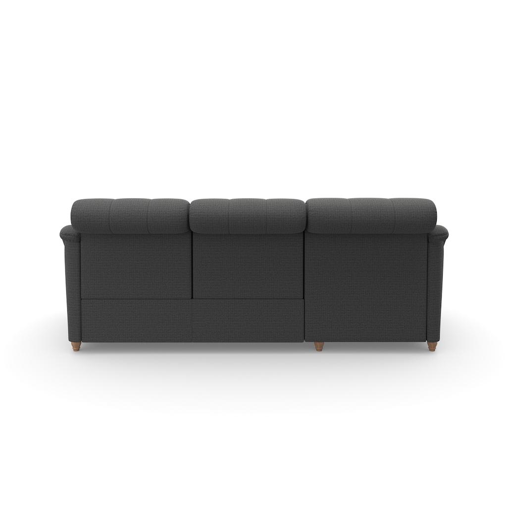 DELAVITA Ecksofa »Bostone«, Kopfteilverstellung an jeder Sitzfläche, wahlweise Relaxfunktion, auch in Leder