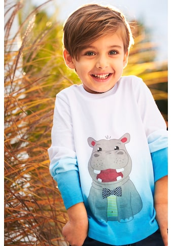 KIDSWORLD Langarmshirt »HIPPO« kaufen