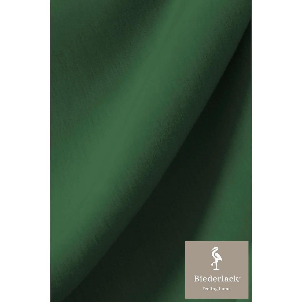 BIEDERLACK Wohndecke »Squares«, im Uni Design