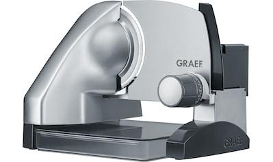 Graef Allesschneider SlicedKitchen SKS 500, inkl. Aufbewahrungsbox & MiniSlice - Aufsatz, 170 Watt kaufen