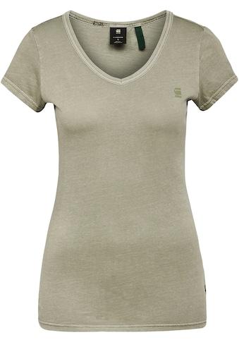 G-Star RAW V-Shirt »T-Shirt Eyben slim v t wmn«, wunderschöner Farbeffekt durch... kaufen
