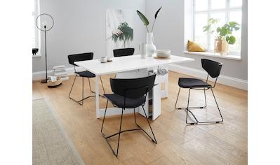 Woodman Esstisch »Jasper«, mit einer rechteckigen Tischplatte und Auszugsfunktion, Breite 90 cm kaufen