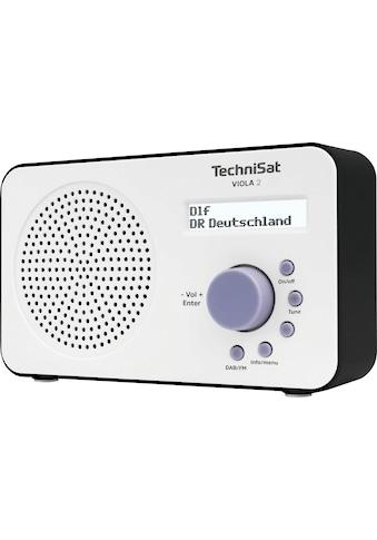 TechniSat Digitalradio (DAB+) »VIOLA 2 Tragbares«, (Digitalradio (DAB+)-UKW mit RDS),... kaufen