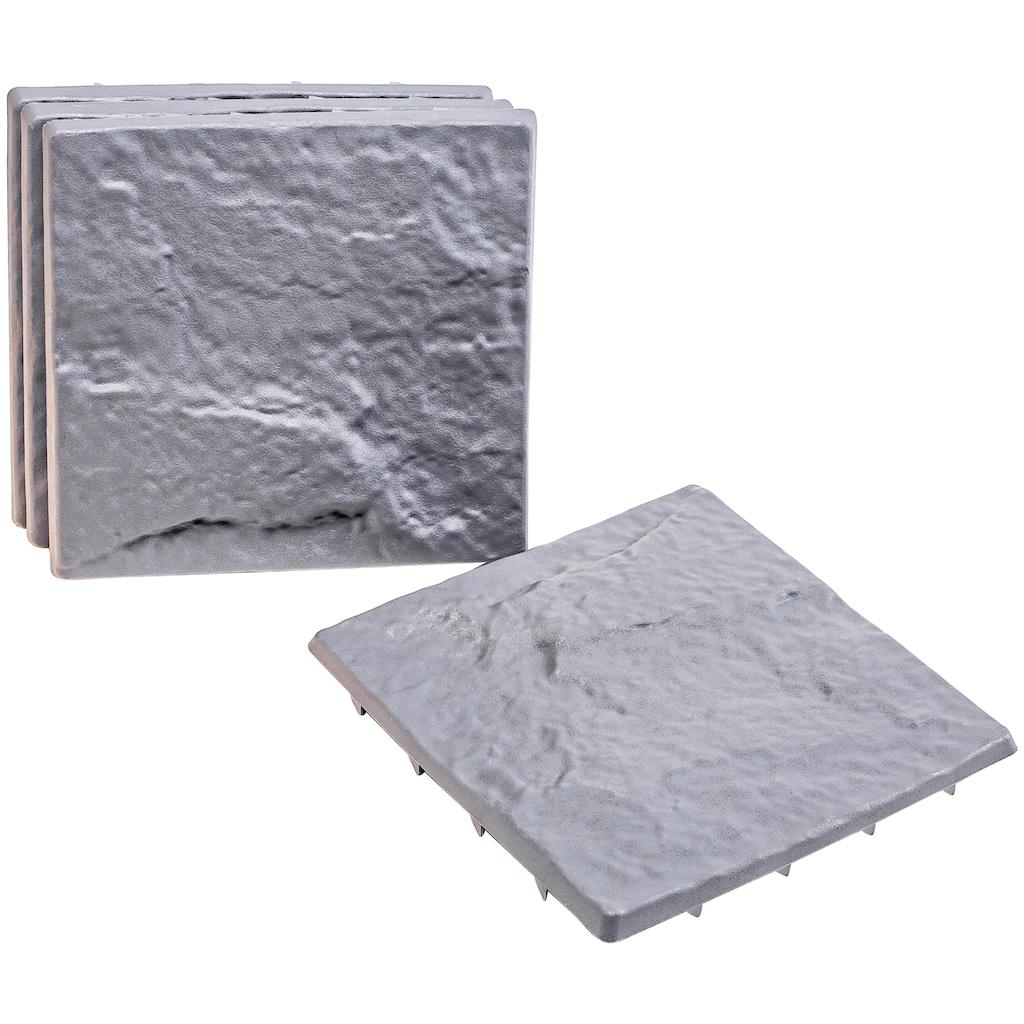 UPP Trittsteine, Steinoptik, 4 Platten