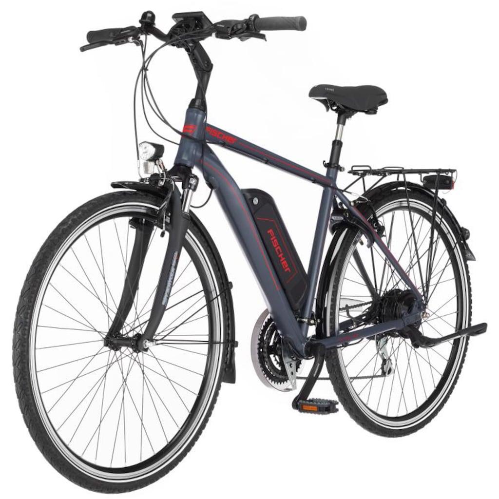 FISCHER Fahrräder E-Bike »ETH 1806«, 24 Gang, Shimano, Acera, Heckmotor 250 W