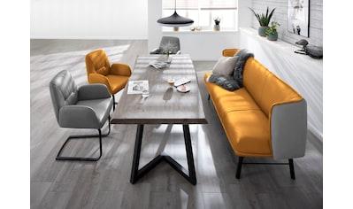 W.SCHILLIG Essbank »chloé«, 3-Sitzer Küchensofa mit Absetzung im Rücken, inspiriert... kaufen