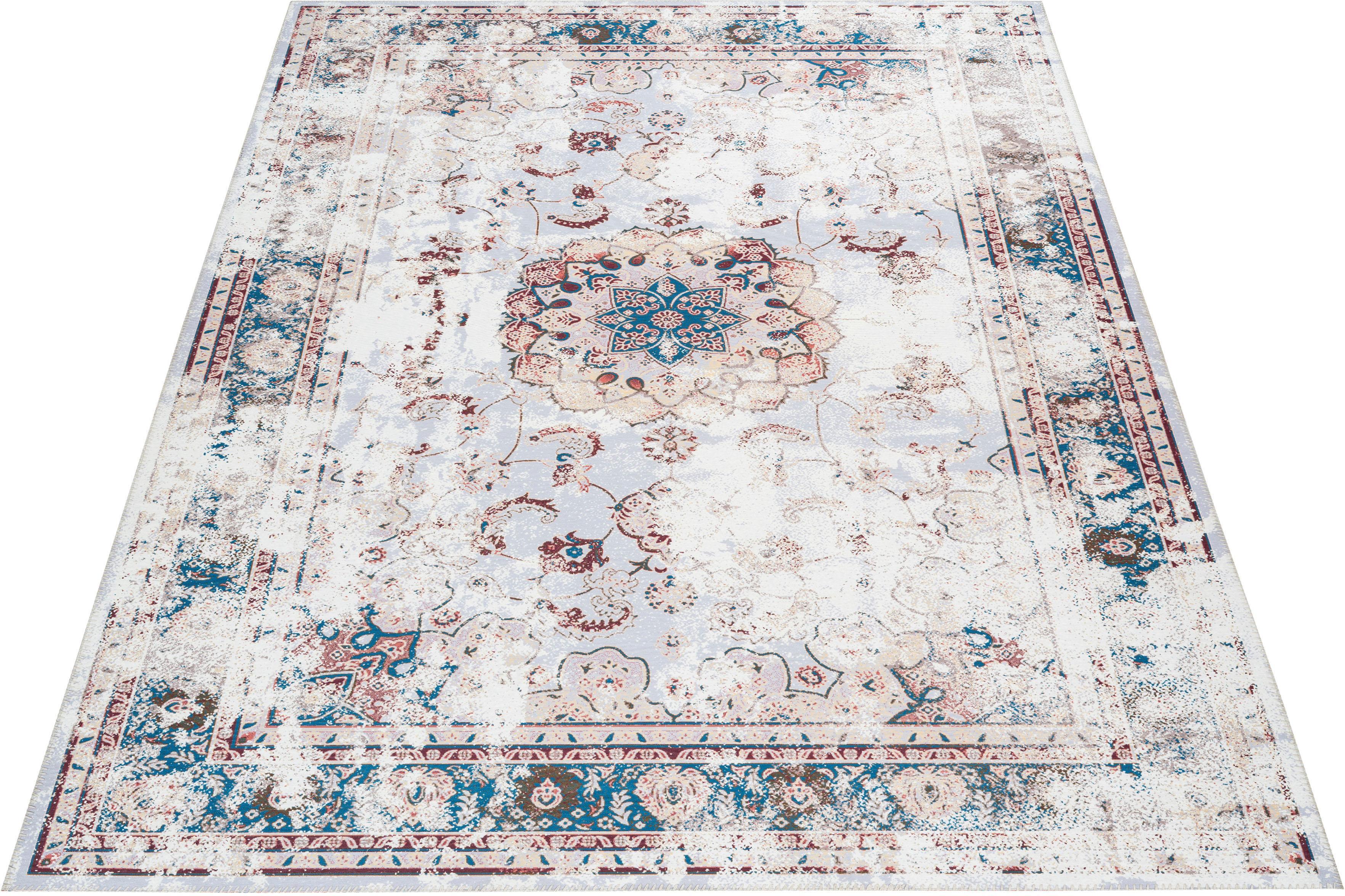 Teppich Rosio Leonique rechteckig Höhe 6 mm maschinell gewebt