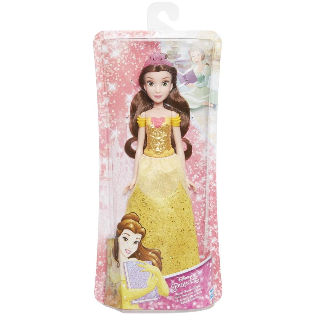 Hasbro Anziehpuppe »Disney Prinzessin Schimmerglanz Belle«