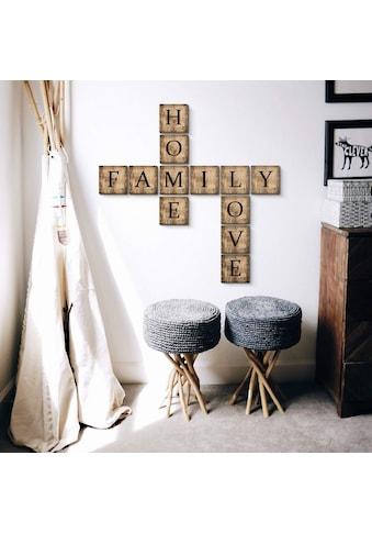 Wall-Art Deko-Buchstaben »Scrabble Deko Buchstaben 10cm« kaufen