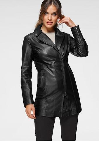 Tamaris Kurzmantel, aus weichem Leder - NEUE KOLLEKTION kaufen