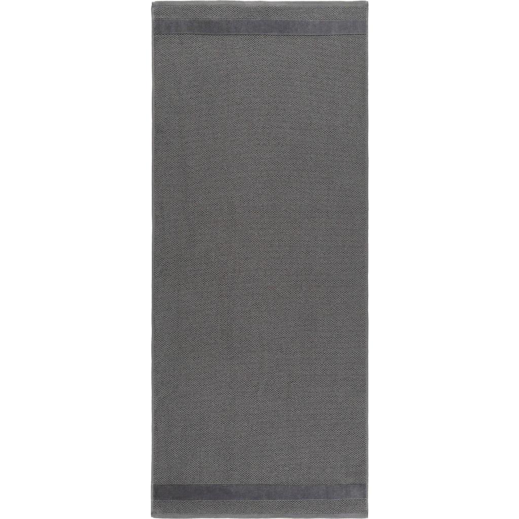 Egeria Saunatuch »Aron«, (1 St.), mit Samtstreifen