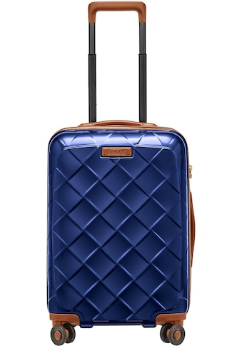 "Stratic Hartschalen - Trolley ""Leather & More, 55 cm"", 4 Rollen kaufen"